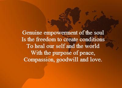 empowerment of soul