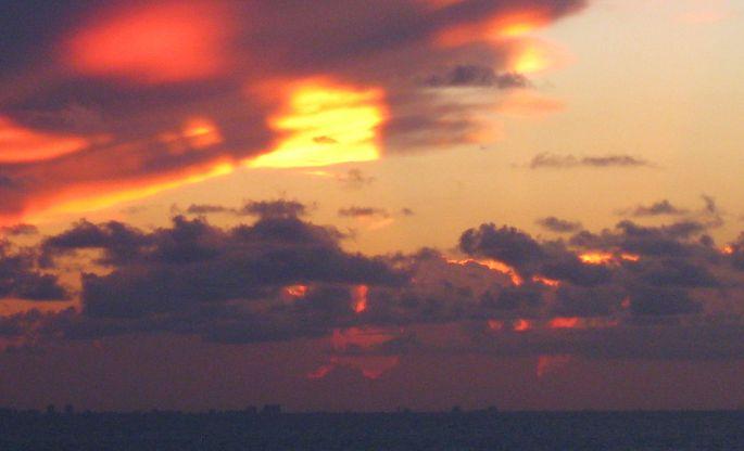 Firey Sunset 2
