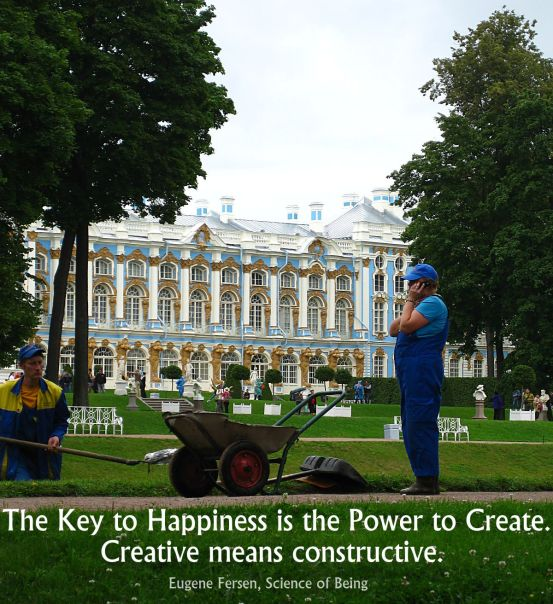 Power to create