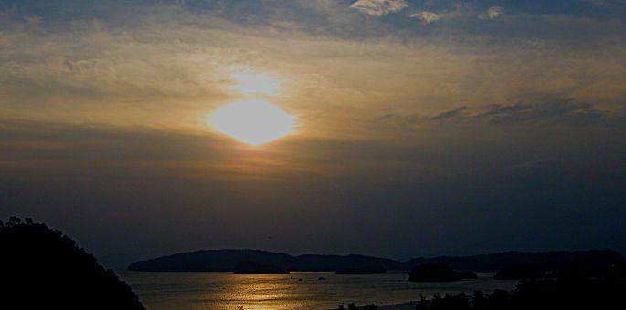sunset krabi 1