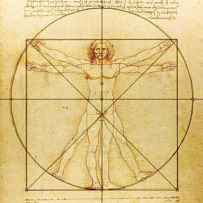 Da Vinci's man with disection