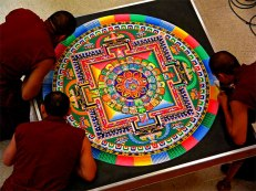Tibetan sandmandala-1