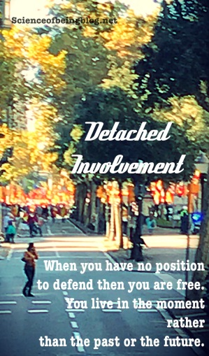 Detached involvement