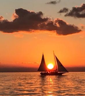 Sailing sunset; Key West 2018